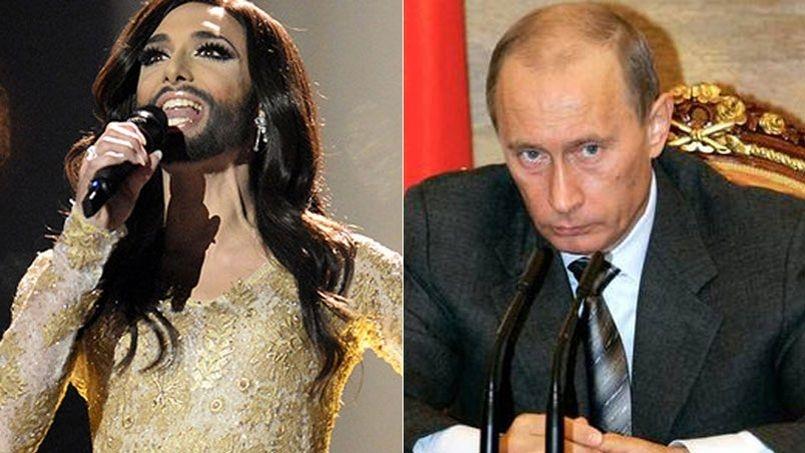 كونشيتا ورست يتغزل بفلاديمير بوتين