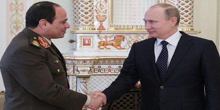 قمة روسية مصرية بمنتجع سوتشي بروسيا