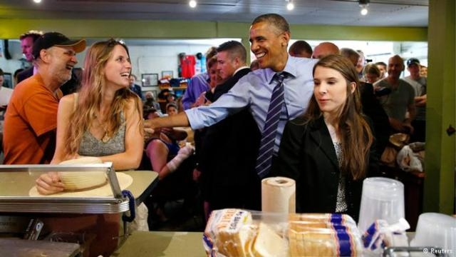 أمريكية تشكو همها لأوباما
