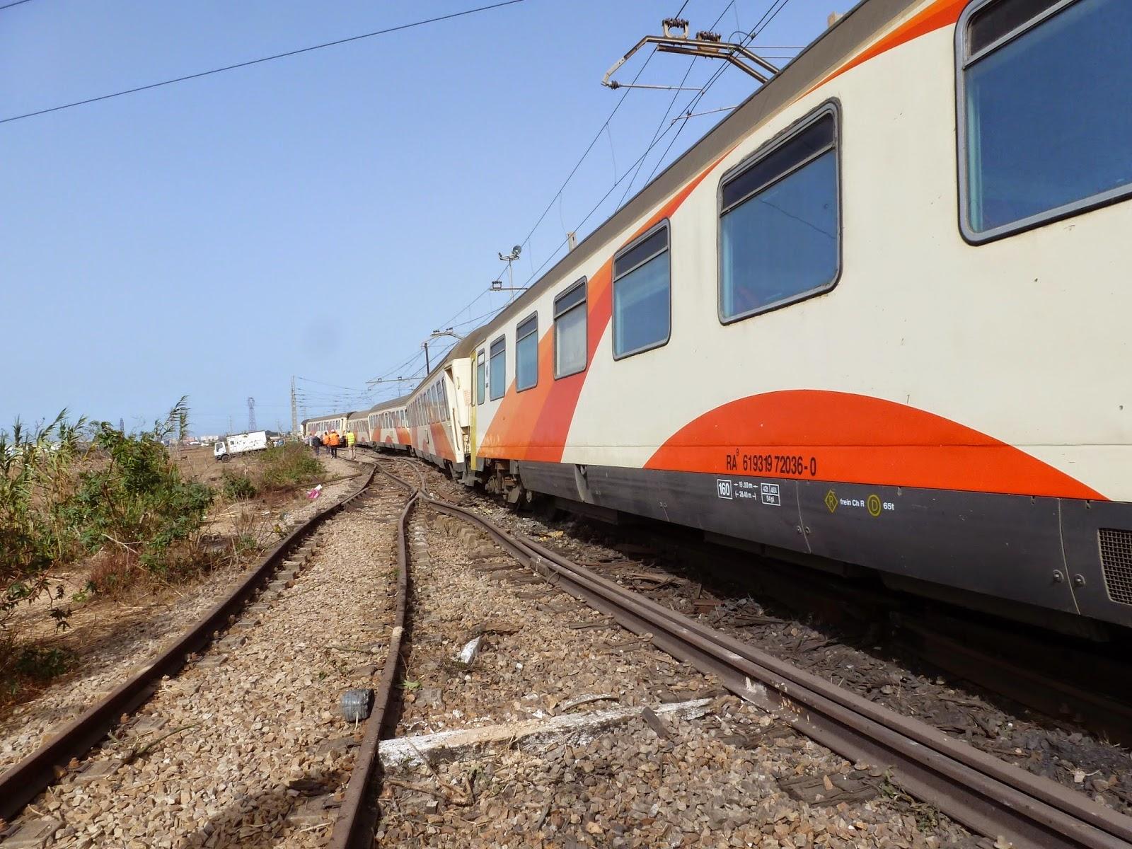مدير المكتب الوطني للسكة الحديدية يحمل السائق مسؤولية حادثة محطة زناتة