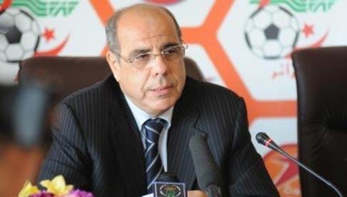 روراوة يتوعد بمكافحة العنف في الملاعب الجزائرية