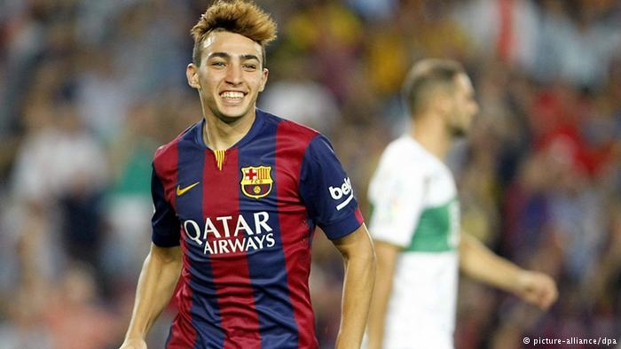 الحدادي يوقع أول هدف عربي مع برشلونة