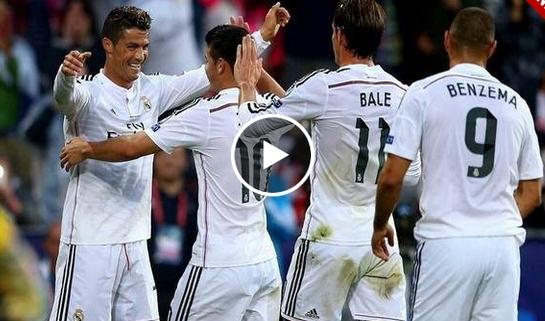ريال مدريد واشبيلية 2-0