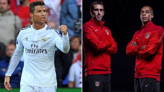 مواجهة بين رونالدو ودفاع الأتليتيكو مدريد