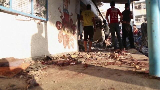 شهداء في قصف إسرائيلي لمدرسة تابعة للأنروا