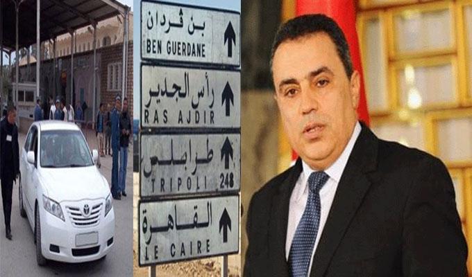 الرئيس التونسي يأمر بفتح حدوده للمصرين العالقين بليبيا