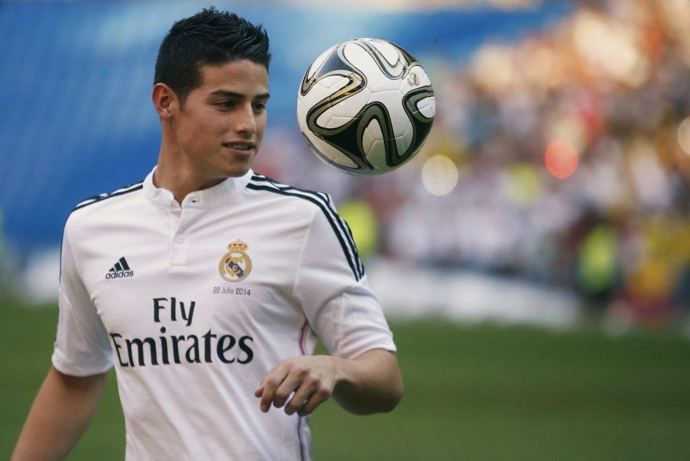 خيمس رودريغز: ريال مدريد ناد من عالم آخر
