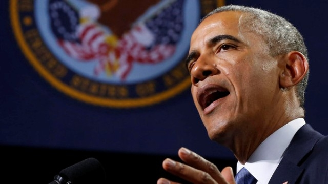 أوباما يجيز شن غارات جوية ضد