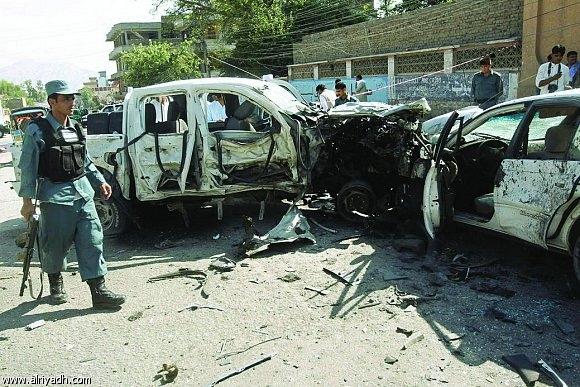 هجوم على مقر الاستخبارات الأفغانية