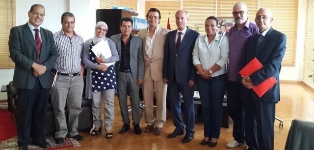 دراسة سبل تطوير الخدمات الاجتماعية للفنانين المغاربة في وزارة التشغيل