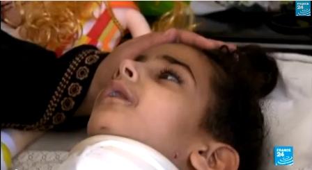 مها..مأساة طفلة فلسطينية