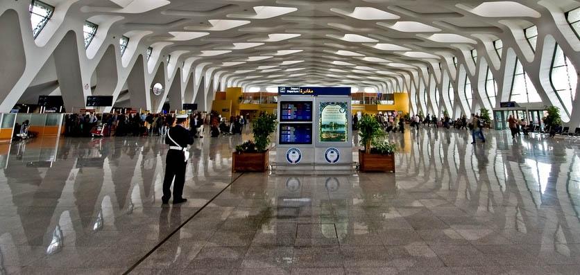 مطار مراكش المنارة يعتمد على نظام جديد لاكتشاف للأسلحة والمتفجرات