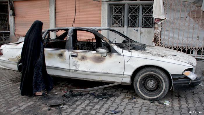 قتلى في تفجير إنتحاري بسيارة في بغداد