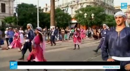 مهرجان الرقص الشعبي بالجزائر