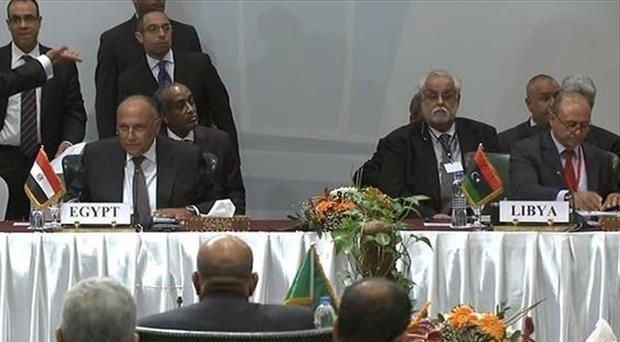 انطلاق مؤتمر دول جوار ليبيا بالقاهرة
