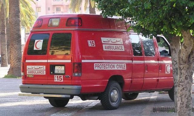 مصرع شخص وإصابة زوجته بجروح في حريق بمدينة خريبكة