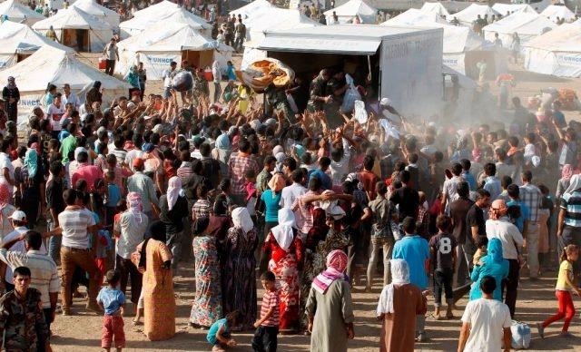 بدء عملية إغاثة إنسانية واسعة في شمال العراق