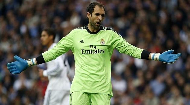 الحارس ديغو لوبيز يغادر ريال مدريد