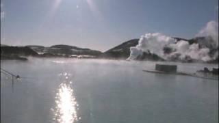 بالفيديو..الينابيع الحارة في أيسلاندا
