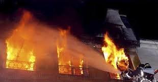 حريق يأتي على 15 منزلا بولاية جندوبة التونسية