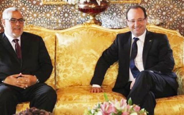 رئيس الحكومة المغربية  يعود من فرنسا ببوادر نهاية سوء الفهم الكبير بين البلدين