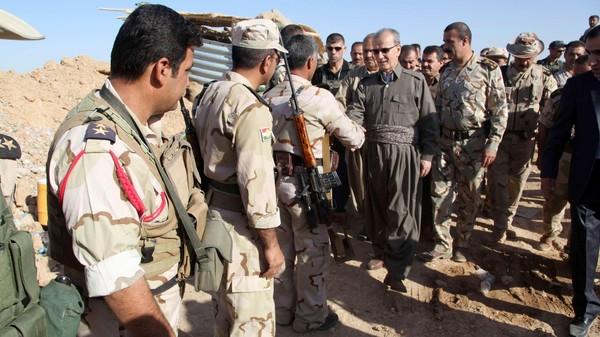 مقتل 14 من الأكراد و100 من داعش بالموصل