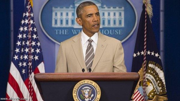 اوباما: سنحاول بناء تحالف لمحاربة «داعش»
