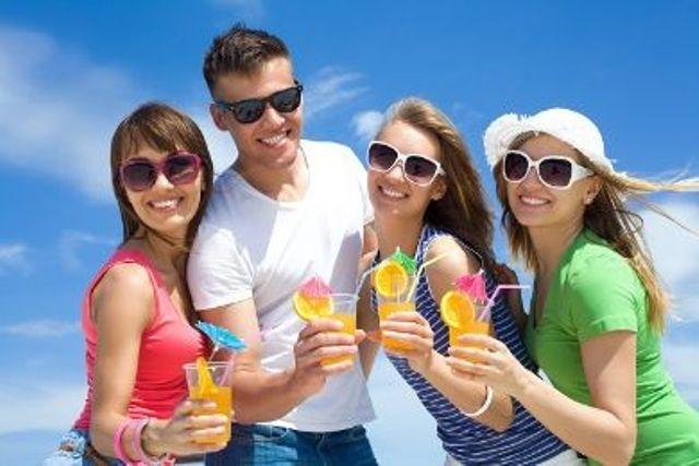 شمس الصيف خطر على المراهقين