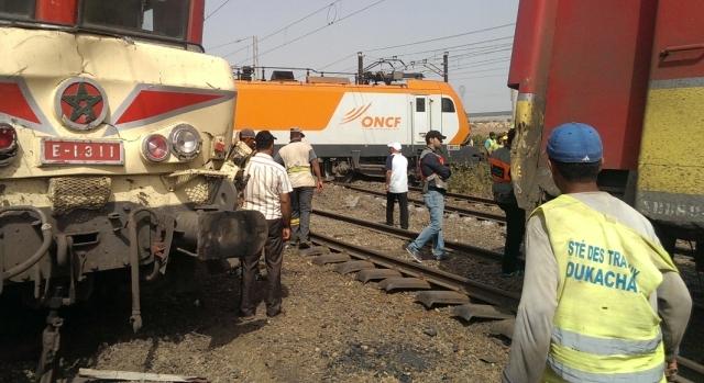 حادث القطار في محطة زناتة نتج عن