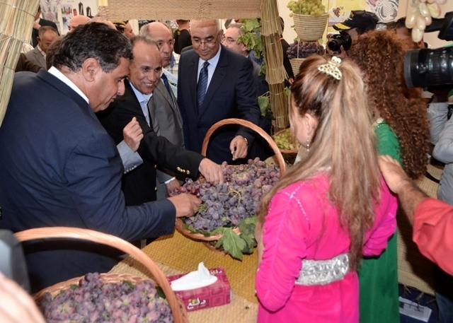 أخنوش: انتاج العنب في المغرب بلغ خلال الموسم الجاري 308 ألف طن