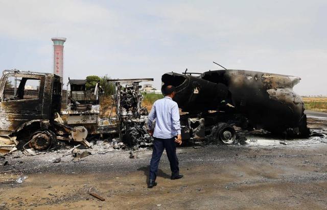 تجدد المواجهات المسلحة بمحيط مطار طرابلس