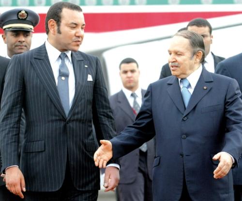 بوتفليقة يهنئ محمد السادس ويذكربالنضال المشترك بين البلدين