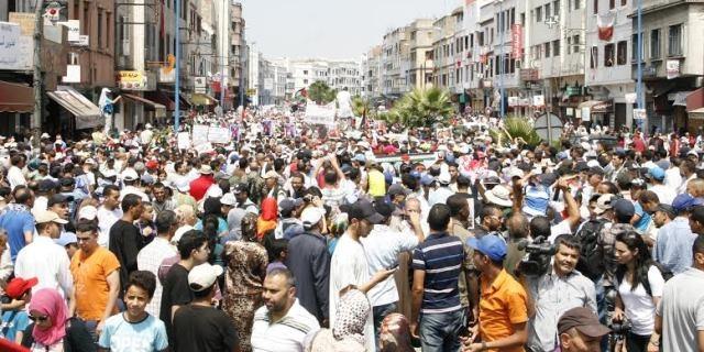 مسيرة ثانية في الدار البيضاء تحت شعار :