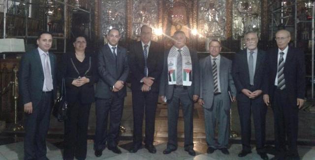 وفد عن حزب التقدم والاشتراكية المغربي يبرز الهدف من وراء زيارته لفلسطين