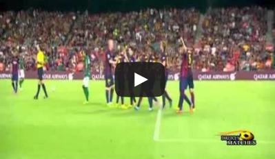 برشلونة وليون المكسيكي 6-0