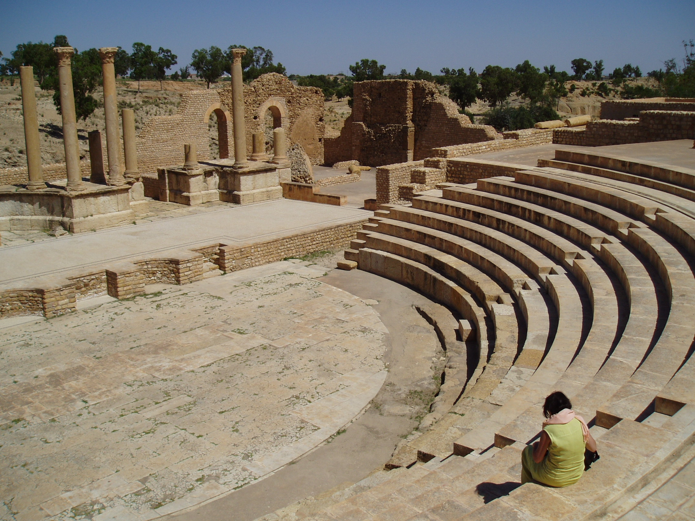 ربيع تونس'' في المسرح الأثري بقرطاج