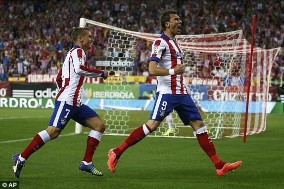 ماندزوكيتش يهدي أتلتيكو مدريد كأس السوبر