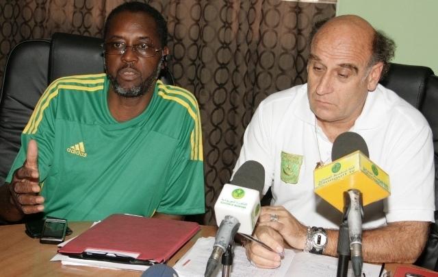 إقالة  الفرنسي باتريس نفه من منتخب موريتانيا