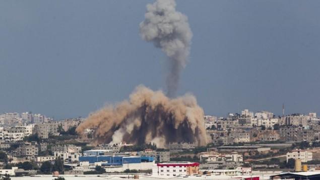 5 شهداء فلسطينيين في قصف إسرائيلي بغزة
