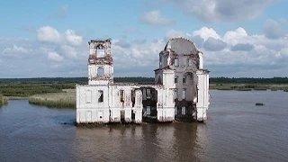هذه هي المدينة التي دفنها ستالين تحت الماء