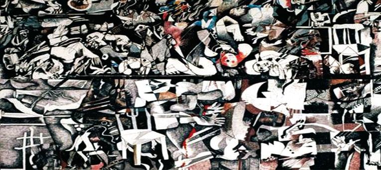 الفنان ضياء العزاوي يؤرخ لمذبحة «صبرا وشاتيلا».