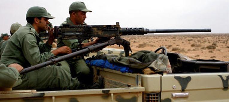 الدرك الحربي ينتشر بالحدود قبل مناورات تجمع الجزائر والبوليساريو