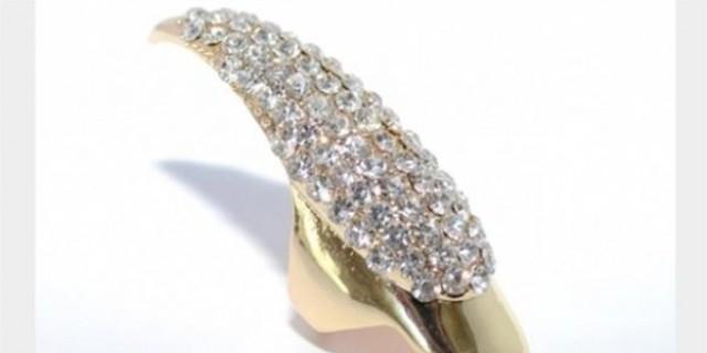 خاتم الأظافر أحدث صيحات الحلي