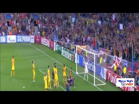 برشلونة وآبويل 1-0