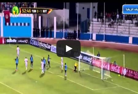 تونس وبوتسوانا 2-1