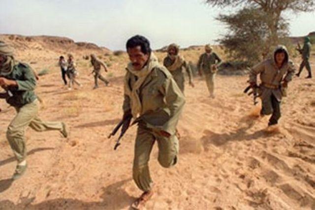 دورية تابعة للبوليساريو  تتعرض لإنفجار لغم أرضي  أثناء محاولتها الهروب نحو المغرب