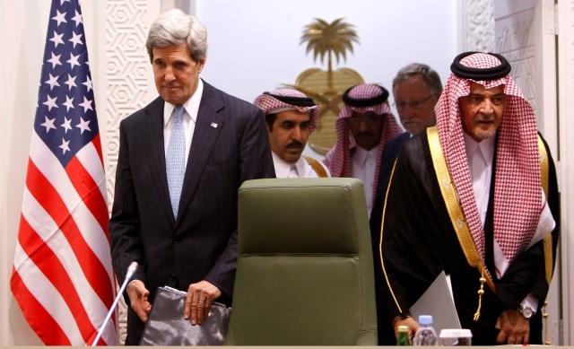 بدء اجتماع عربي أمريكي بجدة حول