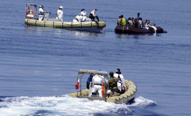 إنقاذ 14 مهاجرا سريا مغاربيا من الغرق في مياه الميرية جنوب اسبانيا