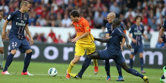 برشلونة يخسر أمام الفريق الباريسي في دوري الأبطال