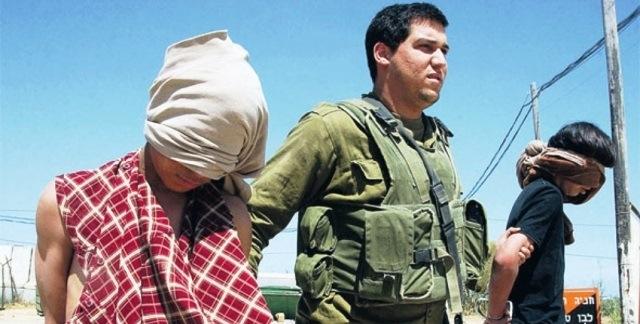الأطفال الفلسطينيون الأسرى في سجون الاحتلال الإسرائيلي